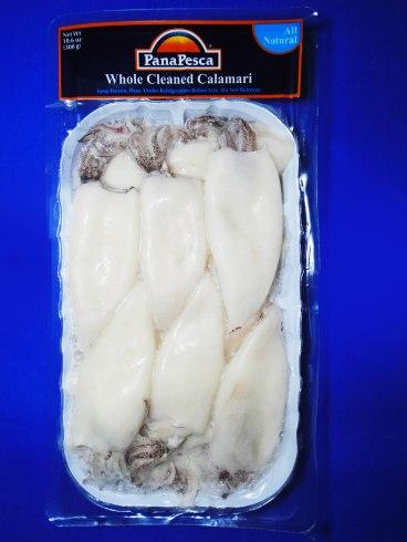 Whole Cleaned Calamari