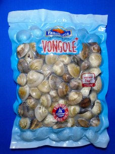 Vacuum Packed Cooked Clams