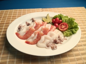 Skewered Seafood Mix